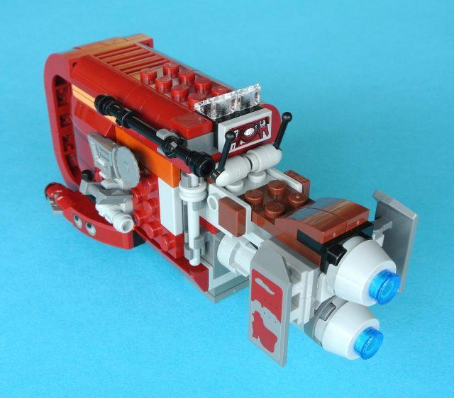 lego 75099 Rey s Speeder retro