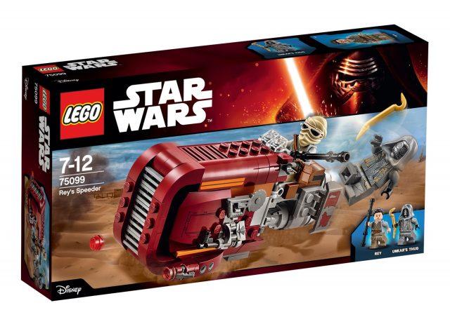 lego 75099 Rey s Speeder scatola
