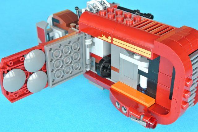 lego 75099 Rey s Speeder sportello