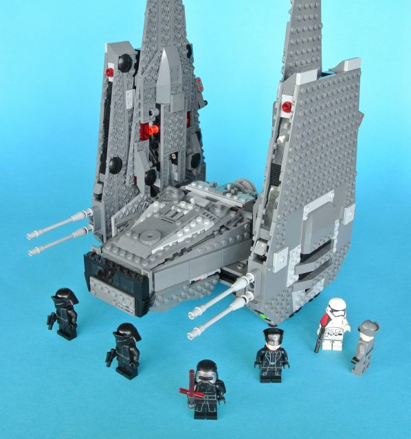 lego 75104 kylo ren command shuttle con minifigure