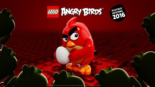 lego angry birds minifigura red