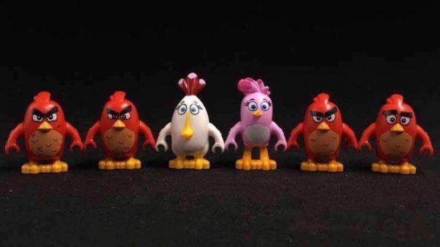 lego angry birds minifigures 2016