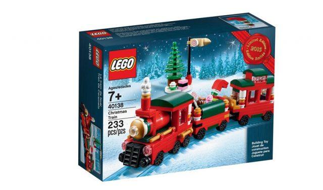 lego christmas train_40138 2