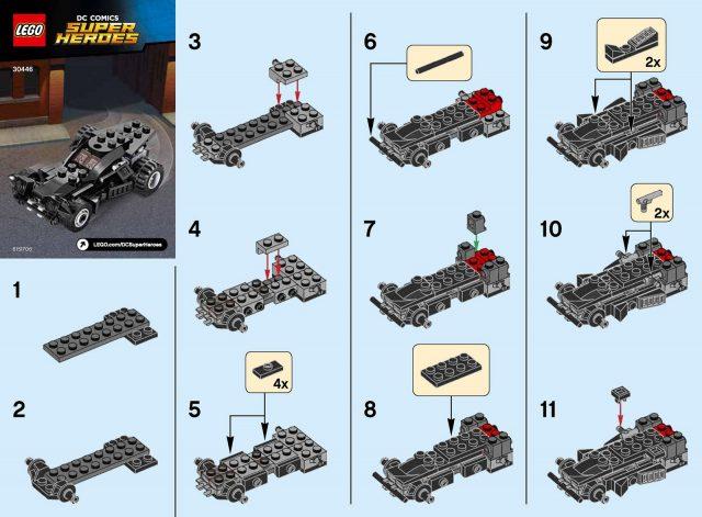 lego dc comics super heroes the batmobile 30446 1