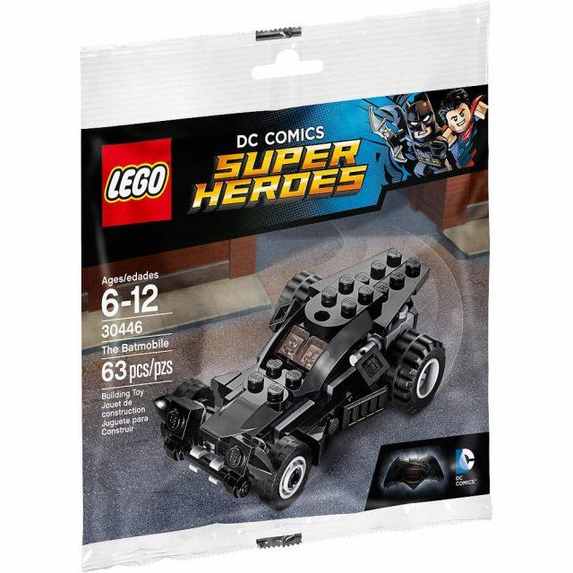 lego dc comics super heroes the batmobile 30446