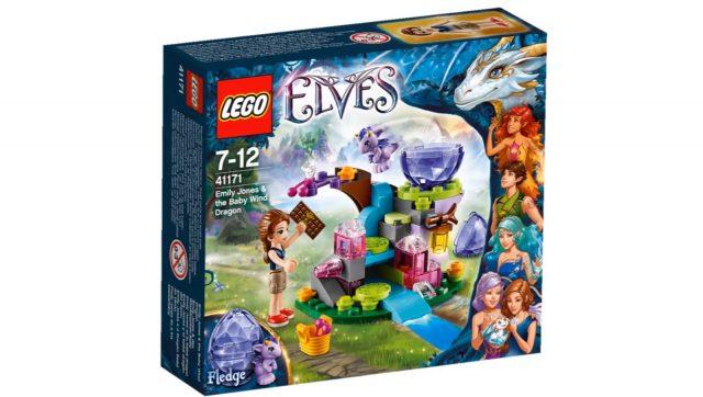 lego elves emily jones the baby wind dragon 41171