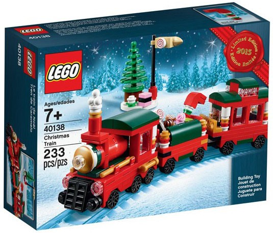lego holiday train_40138 2