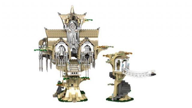 lego ideas Lothlorien 2