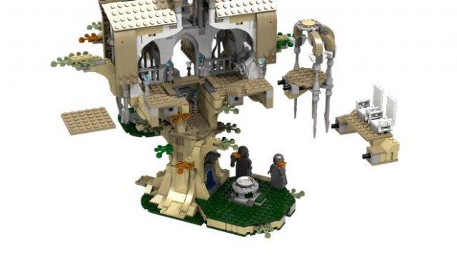 lego ideas Lothlorien 3