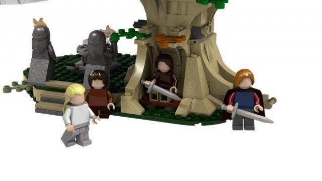 lego ideas Lothlorien 4