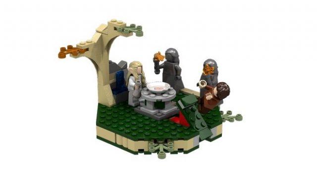 lego ideas Lothlorien 5