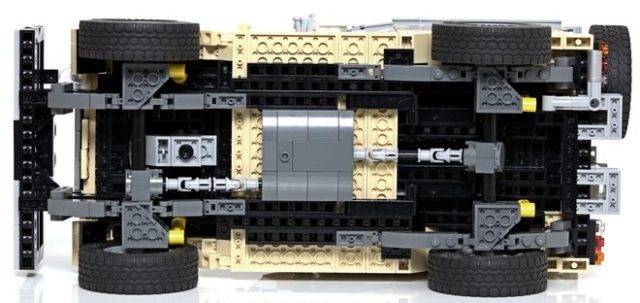 lego ideas Toyota Landcruiser 3