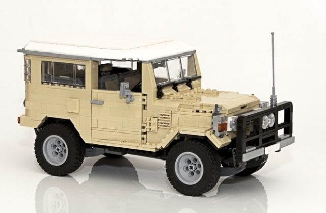 lego ideas Toyota Landcruiser
