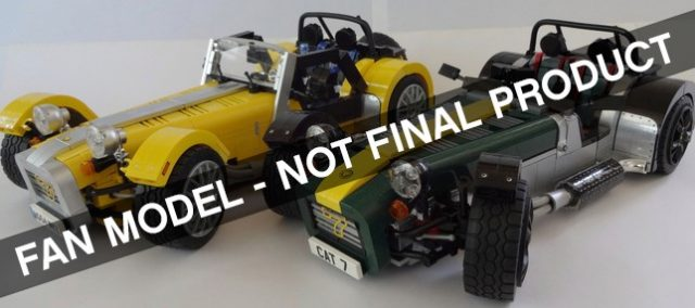 lego ideas caterham super seven 726