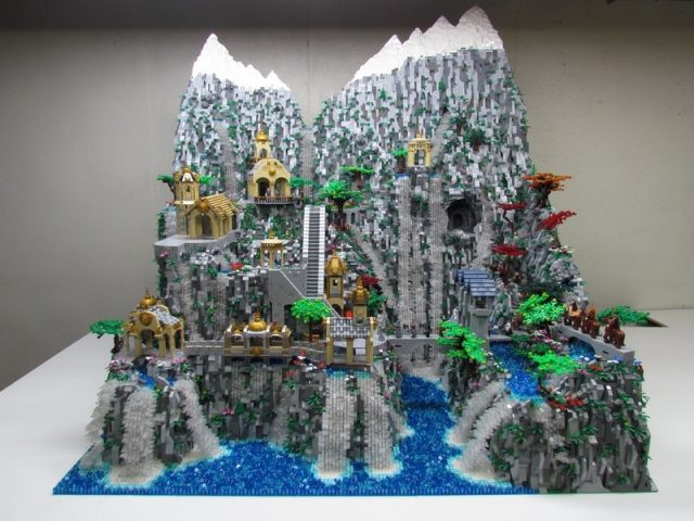 lego ideas rivendell 2