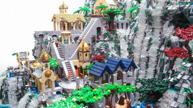 lego ideas rivendell