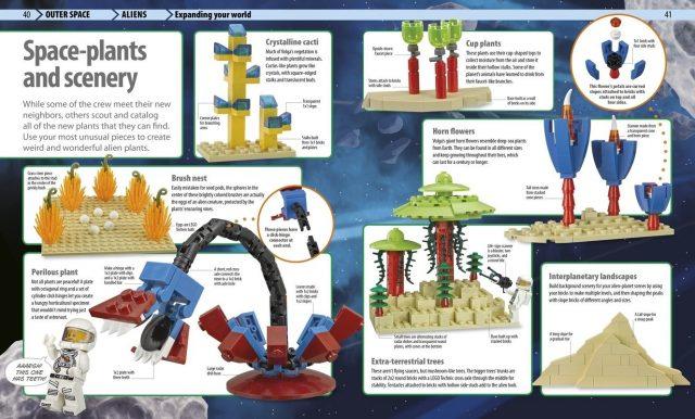 lego infiniti mondi da costruire piante spaziali
