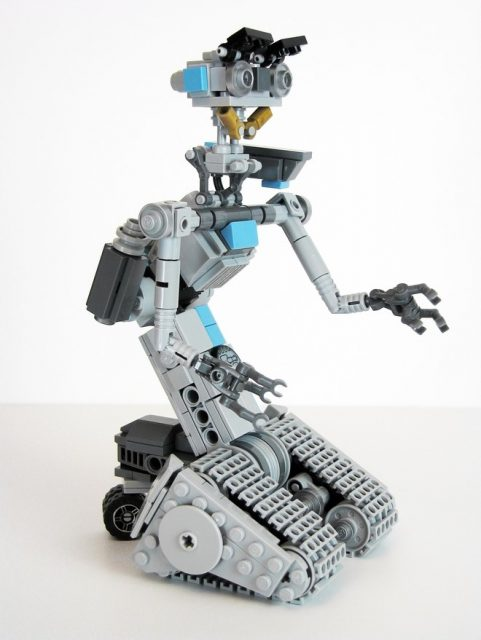 lego johnny five 2 322