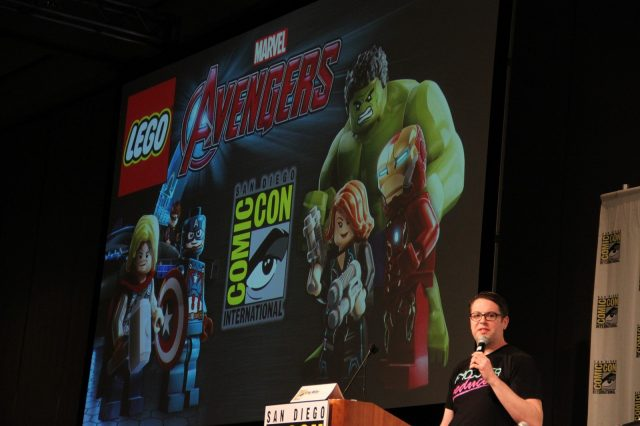 lego marvel avengers sdcc2015 panel