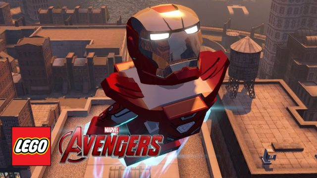 lego marvel avengers silver iron man