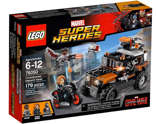 lego marvel super heroes captain america civil war crossbones hazard heist 76050