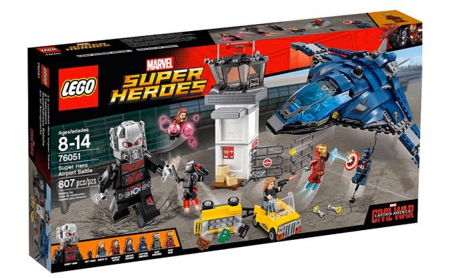 lego marvel super heroes captain america civil war super hero airport battle 76051
