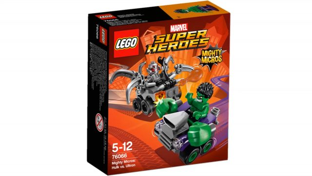 lego marvel super heroes mighty micros hulk vs ultron 76066