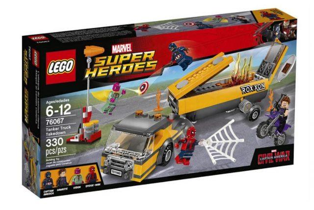 lego marvel super heroes tanker truck takedown 76067 767