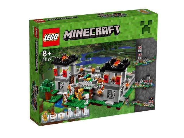 lego minecraft the fortress 21127 481