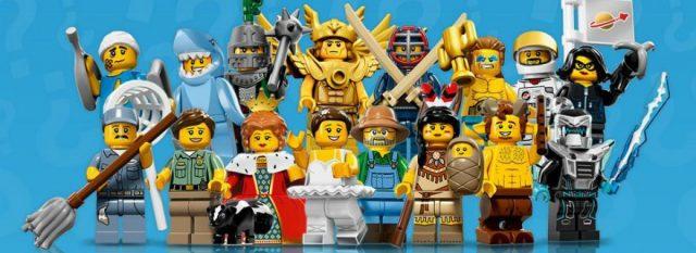 lego minifigure serie 15