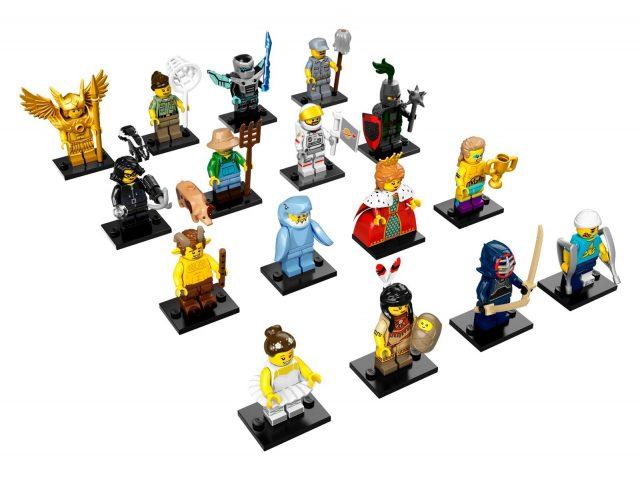lego minifigure serie 15 71011