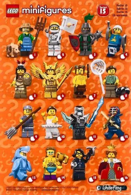 lego minifigure serie 15 71011 volantino