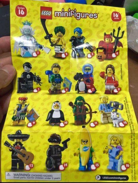 lego minifigure serie 16 973
