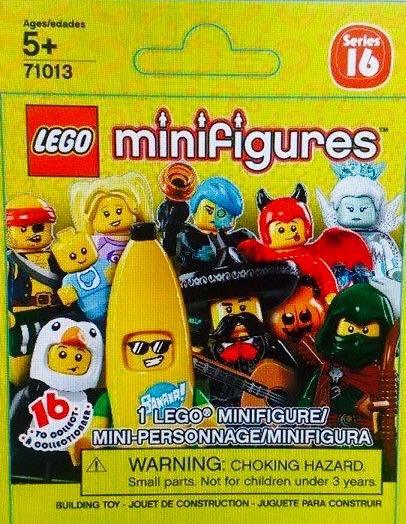 lego minifigure serie 16 bustina 406