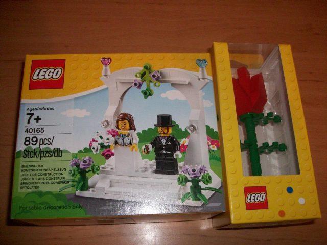 lego minifigure wedding favor set 40165 965