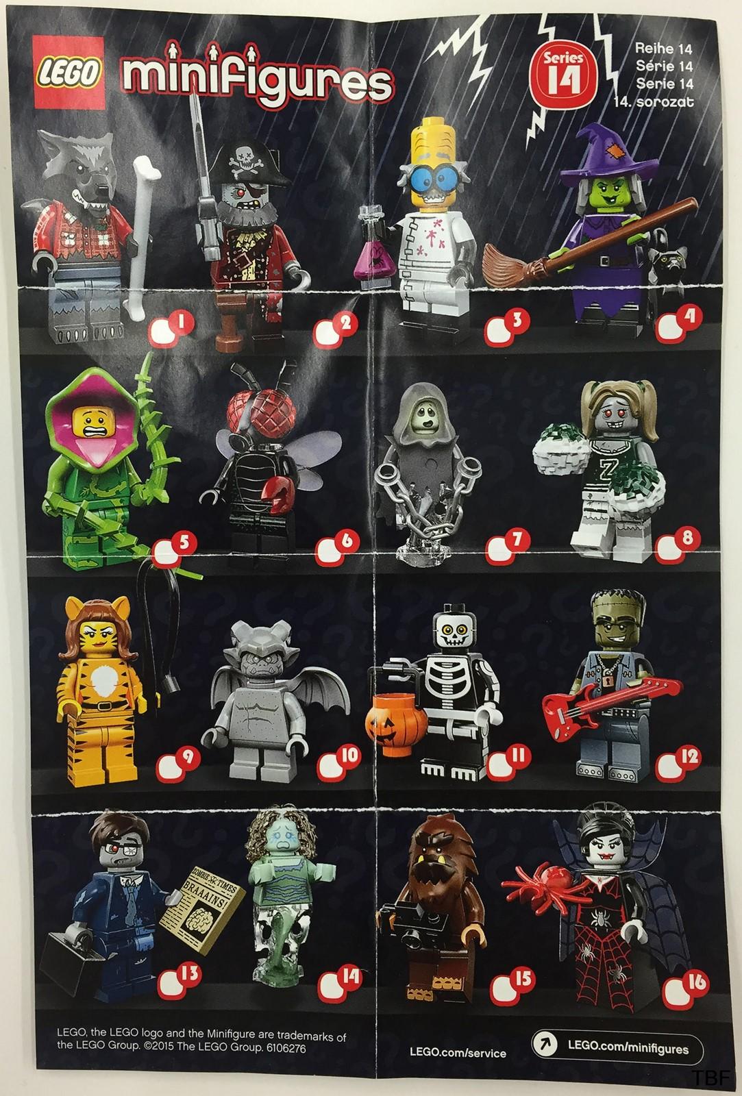 lego minifigures series 14 - HD1065×1600