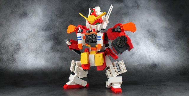 lego moc XXXG 01H Gundam Heavyarms 2