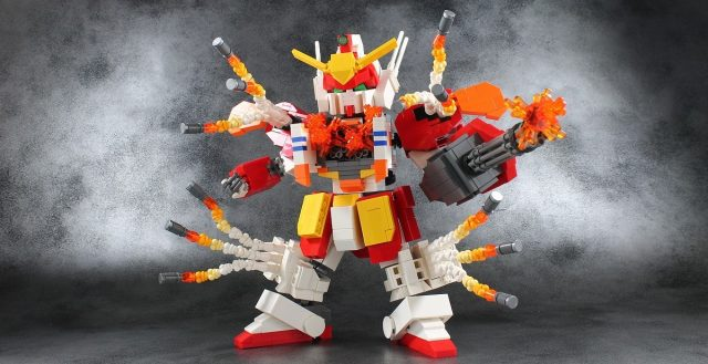 lego moc XXXG 01H Gundam Heavyarms 3