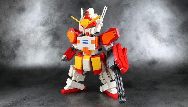 lego moc XXXG 01H Gundam Heavyarms