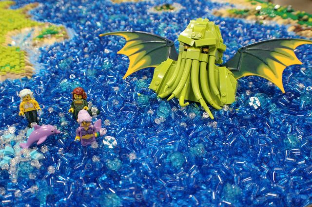 lego moc around the world in 80 days Cthulhu