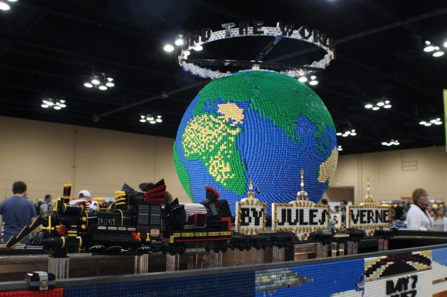 lego moc around the world in 80 days il mondo