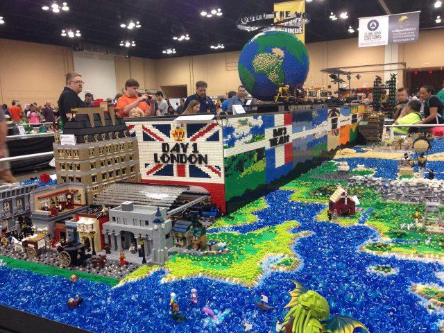 lego moc around the world in 80 days inghilterra