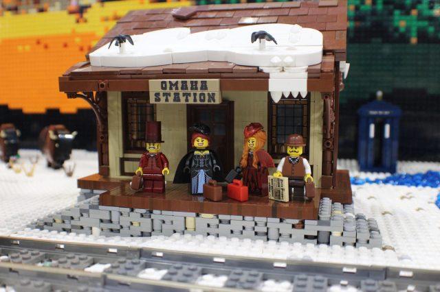 lego moc around the world in 80 days stazione Omaha