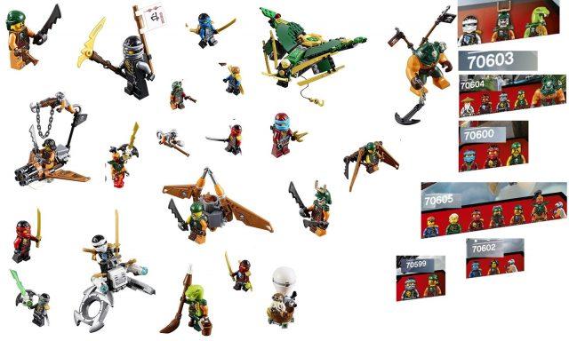 lego ninjago 2016 minifigures