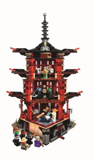 lego ninjago 70751 temple of airjitzu 22