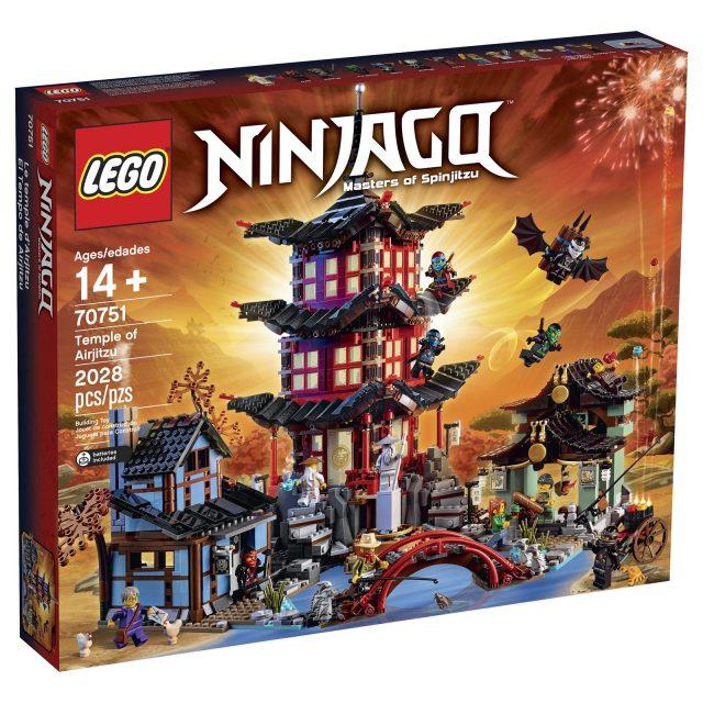 lego ninjago 70751 temple of airjitzu box
