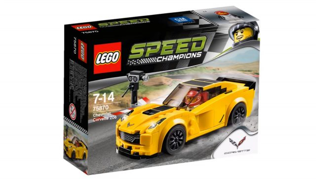 lego speed champions chevrolet corvette z06 75870