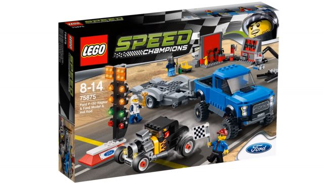 lego speed champions ford f 150 raptor ford model a hot rod 75875
