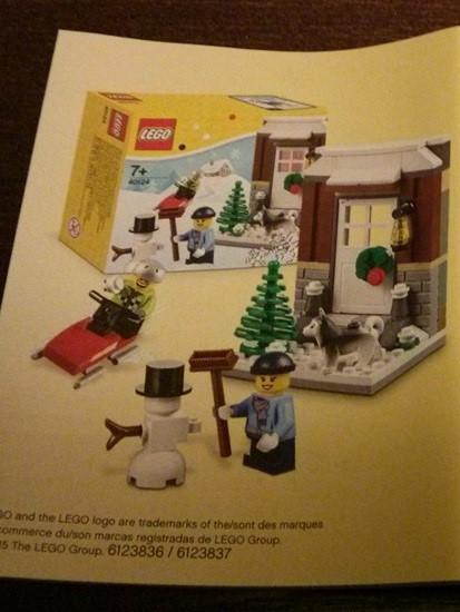 lego stagionale 40124 Winter Fun