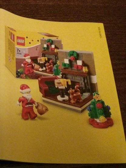 lego stagionale 40125 Santa s Visit